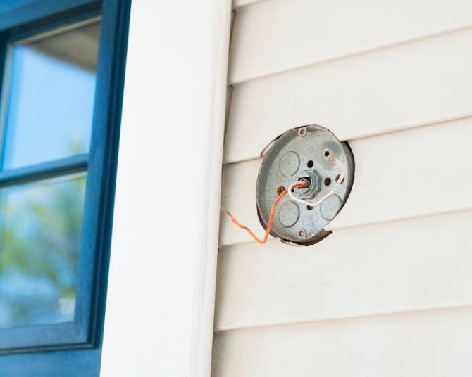 how to install an exterior lighting fixture angie s list rh angieslist com installing outdoor light fixture on brick installing outdoor light fixture box